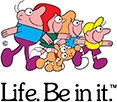 The Life. Be in it. logo